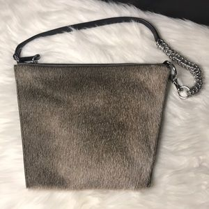ALEXANDER WANG GENESIS FUR SHOULDER BAG